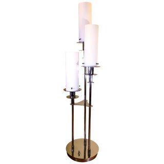Lite Source Credence 3-Light Chrome Table Lamp