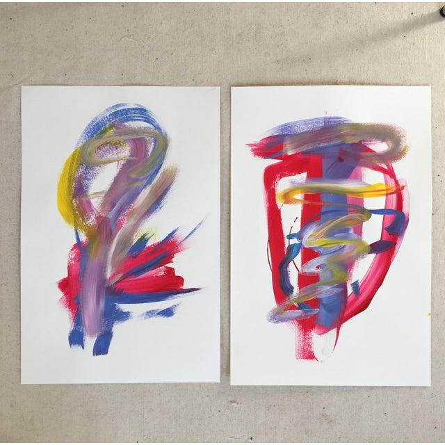 "Jessalin Beutler ""No. 139"" Original Painting - Image 5 of 5"
