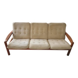 Domino Mobler Teak Danish Sofa