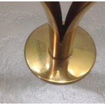 Image of Mid-Century Ystad Metall Brass Candle Holders-Pair