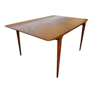 1950s Vintage Mid Century Walnut Dining Table