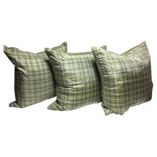 Custom Silk Down Pillows - Set of 3