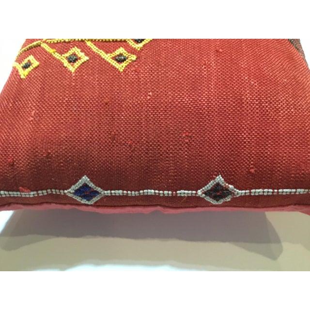 Moroccan Cactus Silk Pillow - Image 8 of 10