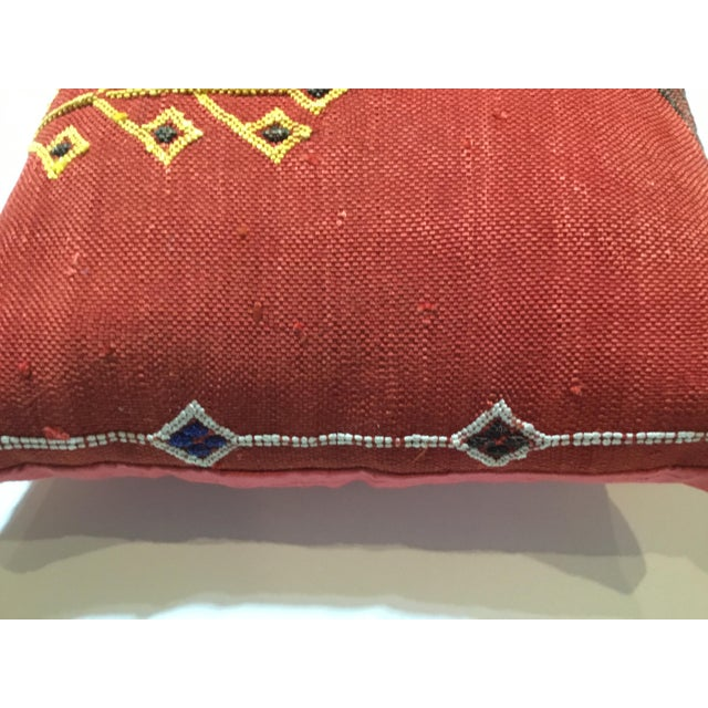 Image of Moroccan Cactus Silk Pillow
