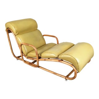 Henry Olko for Willow & Reed Rattan Bamboo Chaise