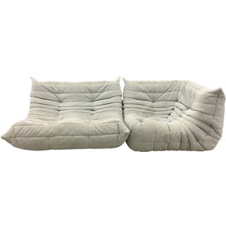 Togo by Ligne Roset Loveseat and Corner Seat
