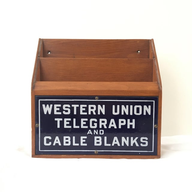 Western Union Telegraph & Cable Blanks Box - Image 2 of 11