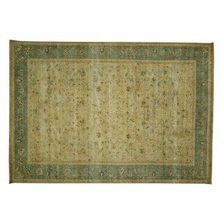 "Overdyed Oriental Wool Rug -  9'6"" x 13'2"""