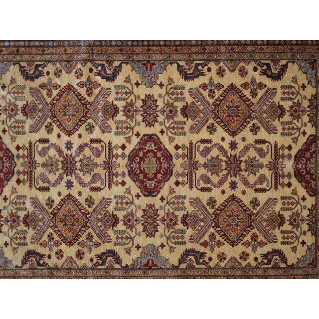 """Image of Hand-Woven Wool Kazak Rug - 8' X 10'3"""""""