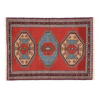 Persian Shiraz Tribal Rug - 4'2 x 5'9