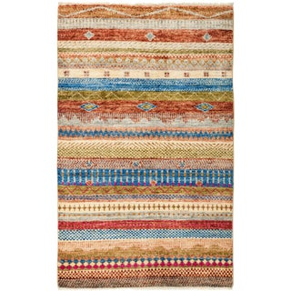 "Lori, Hand Knotted Area Rug - 3'3"" X 5'2"""