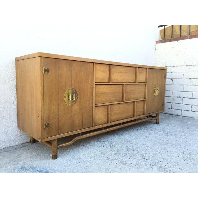 Mid-Century Solid Wood Dresser - Image 3 of 11
