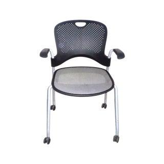 Herman Miller Black Stacking Office Chair