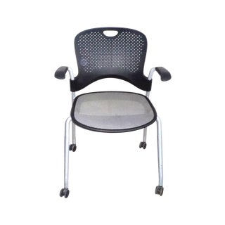 Herman Miller Black Stacking Office Chair