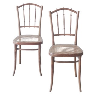 Bentwood Dining Chairs - A Pair