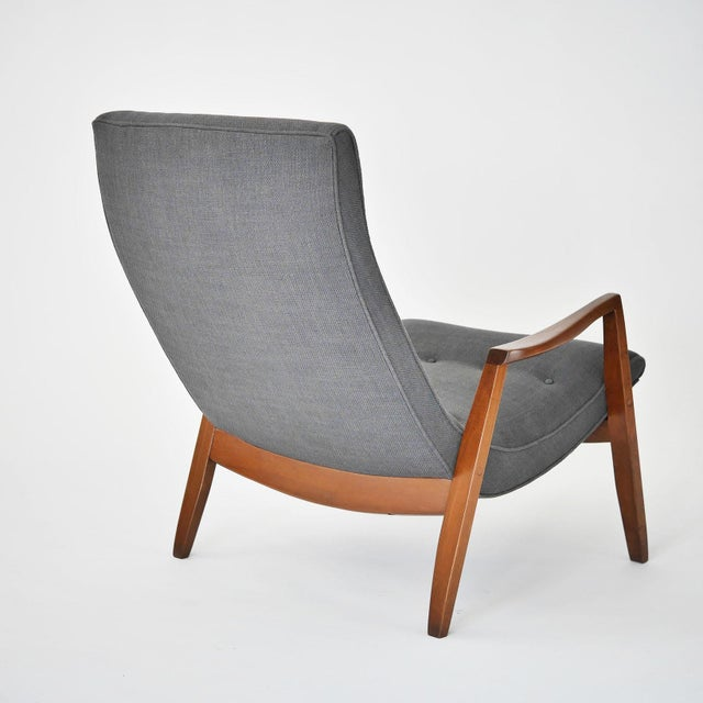Milo Baughman Pair of Scoop Lounge Chairs - Image 5 of 7