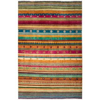 "Lori, Hand Knotted Area Rug - 5'2"" X 7'8"""