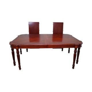 Pulaski Antiques Roadshow Sheraton Dining Table