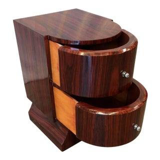 Art Deco Art Moderne Nightstand Side Table
