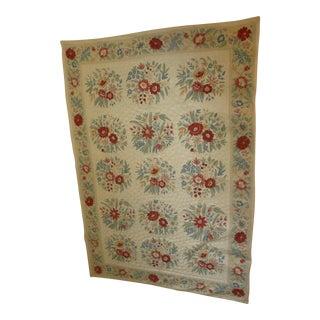 Handknotted Kashmir Oriental Wood Rug - 6' x 8'