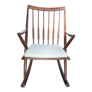 Dainsh Modern Teak Rocking Chair