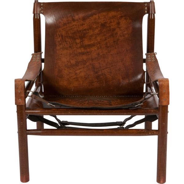 "Vintage Arne Norell ""Safari"" Chair - Image 1 of 5"