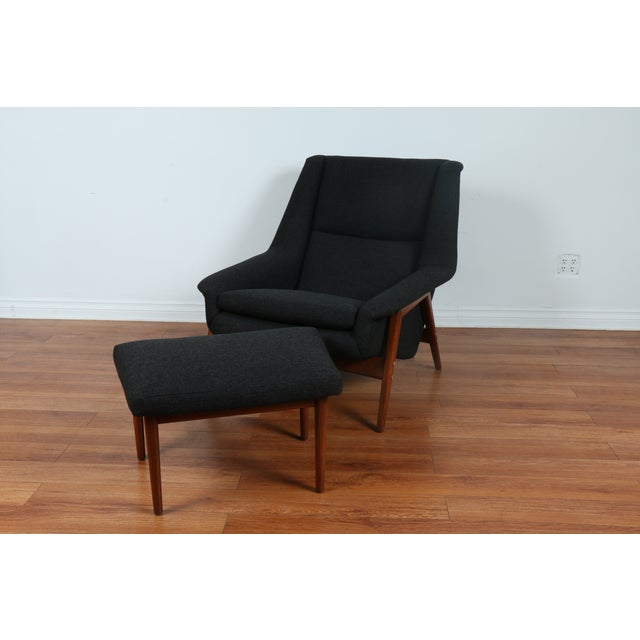 Dux Chair and Ottoman by Folke Ohlsson - Image 5 of 11