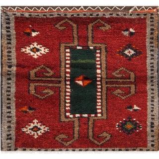"Pasargad Vintage Handmade Lori Rug - 1'8"" X 1'8"""
