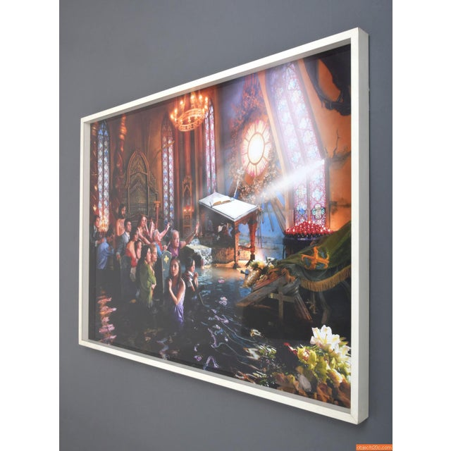 Large David Lachapelle Cathedral C- Print - Image 3 of 5