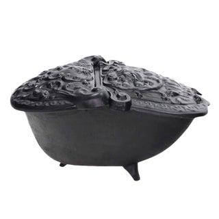 Cast Iron Coal Box