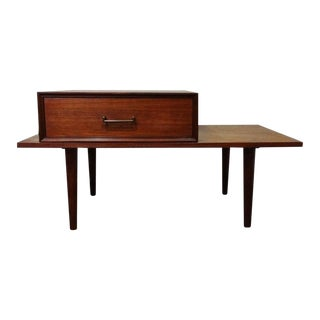 Danish Modern Arne Vodder Teak Storage End Table