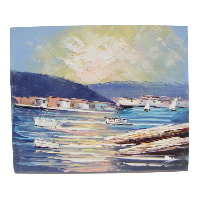 Image of Sausalito California Modernism Painting