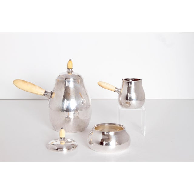 Sterling Silver Coffee Set by Georg Jensen - Image 2 of 11