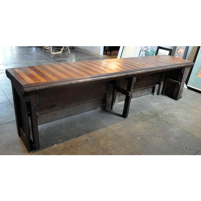 Image of Antique Store Fixture Work Table