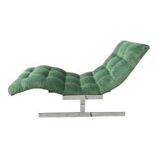 Wave Chaise Lounge by Milo Baghman