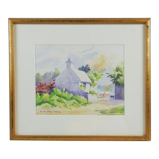 St. Georges Cottage Watercolor