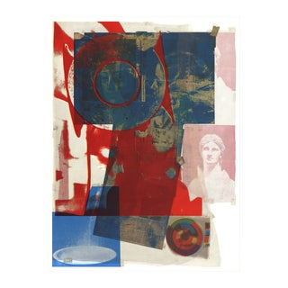 1968 Quarry Poster by Robert Rauschenberg