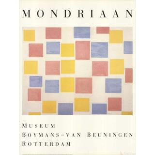 "Piet Mondrian ""Composition With Color Planes"" 1986 Poster"