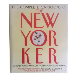 """The Complete Cartoons of the New Yorker"" Hardcover Book"