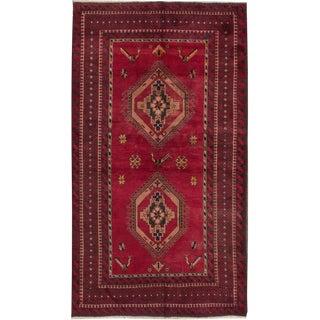 "Apadana - Vintage Persian Rug, 3'8"" x 6'9"""
