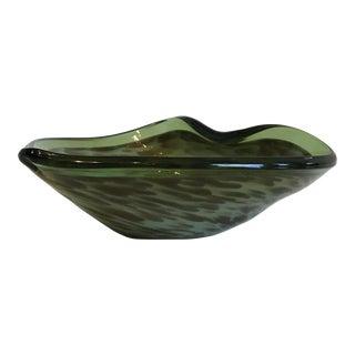 Mid-Century Murano Glass Bowl