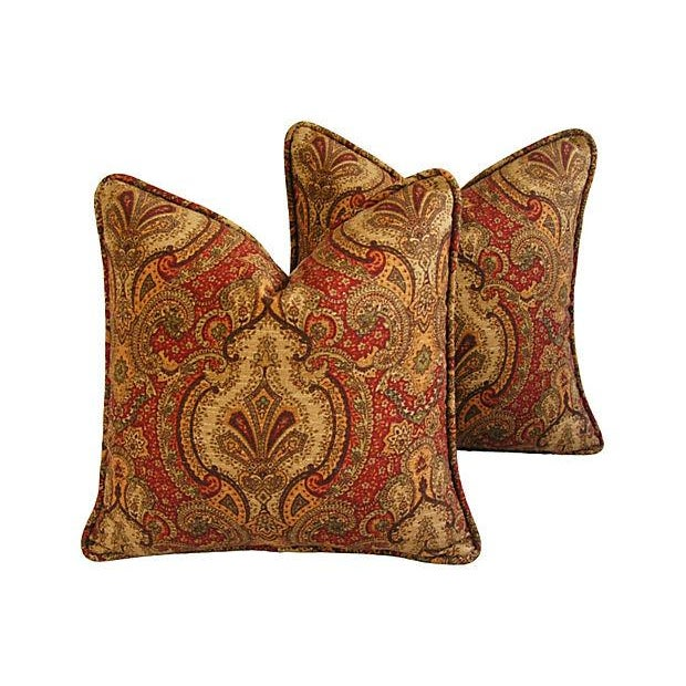 Raymond Waites Europa Pillows - A Pair - Image 1 of 8