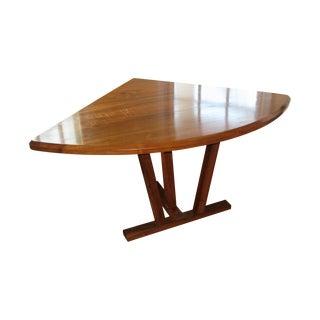 Walnut Corner Dining Table