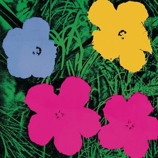 Andy Warhol-Flowers (Lg)-1989 Poster