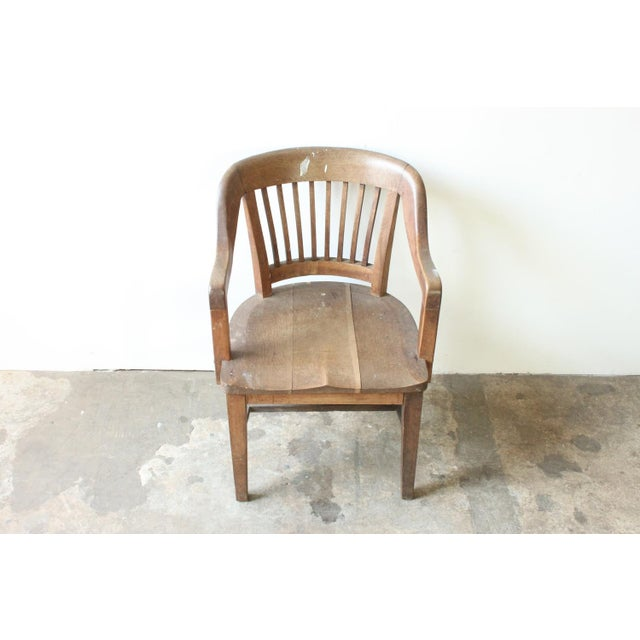 Oak of England Bank Chair - Image 3 of 4
