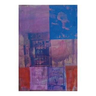 "Marco Pittori ""Deep Purple"" Print"