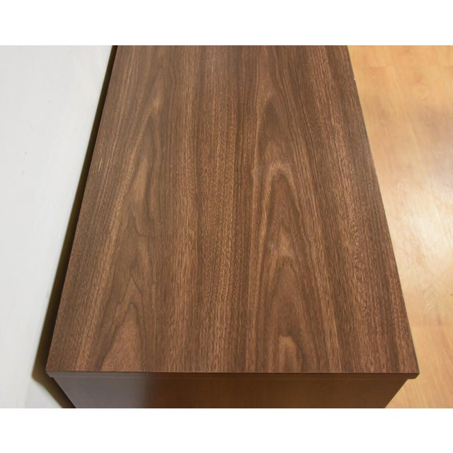 Mid-Century Walnut and Formica Credenza - Image 7 of 11