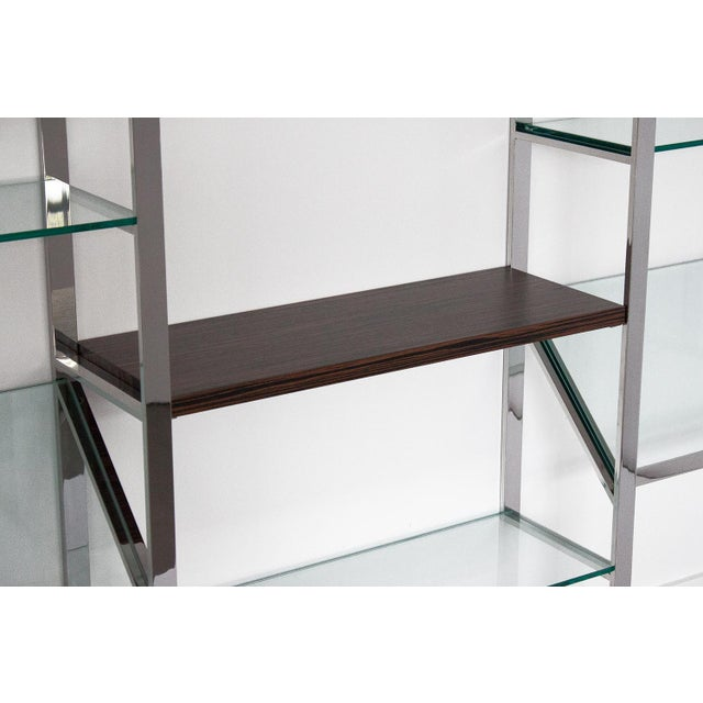 Milo Baughman Wall Mounted Shelving System - Image 4 of 10