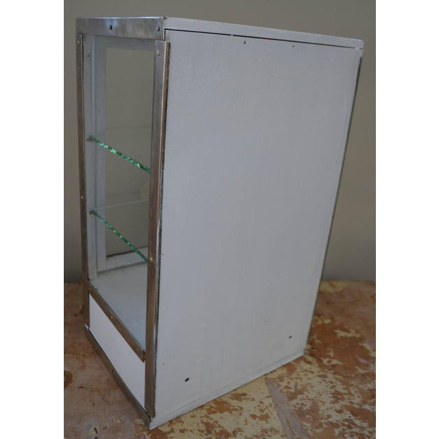 Barber Shop Cabinet With Glass Sides & Shelves - Image 7 of 10