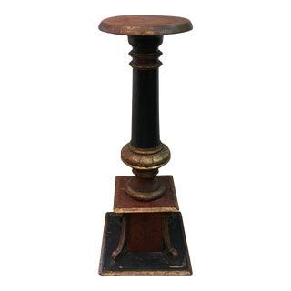 Vintage Painted Pedestal